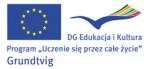 """2010 – wpisanie Warsztatów Grundtviga """"Polish in action"""" do katalogu przykładów dobrych praktyk polskiej Narodowej Agencji"""