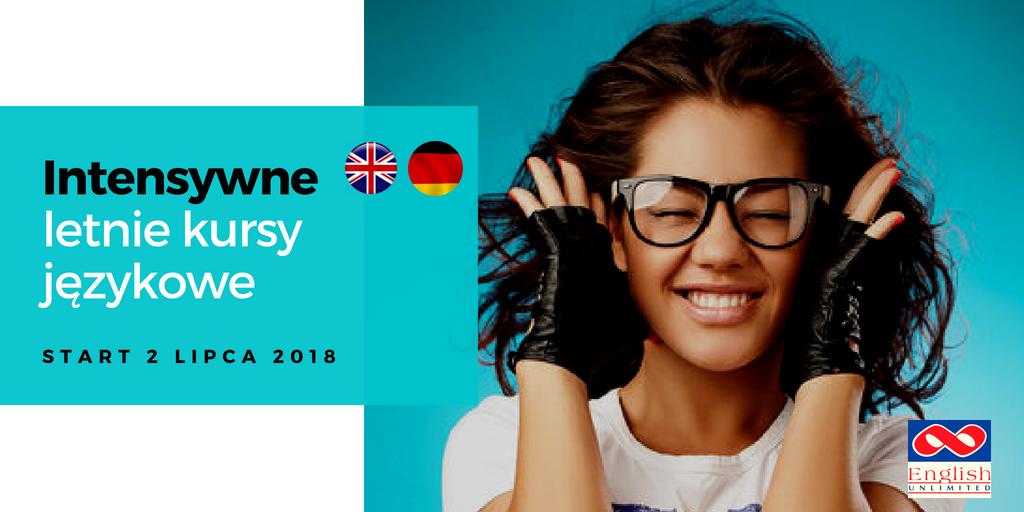 Intensywny kurs języka angielskiego lub niemieckiego